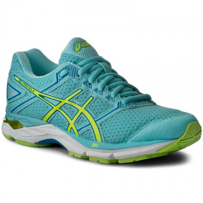Shoes ASICS - Gel-Phoenix 8 T6F7N Aqua Splash/Safety Yellow/Diva Blue 6707
