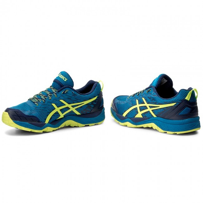 Shoes ASICS Gel FujiTrabuco 5 T6J0N Thunder BlueSafety YellowIndigo Blue 4907