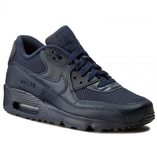 Shoes NIKE Air Max 90 Mesh (GS) 833418 401 ObsidianObsidian