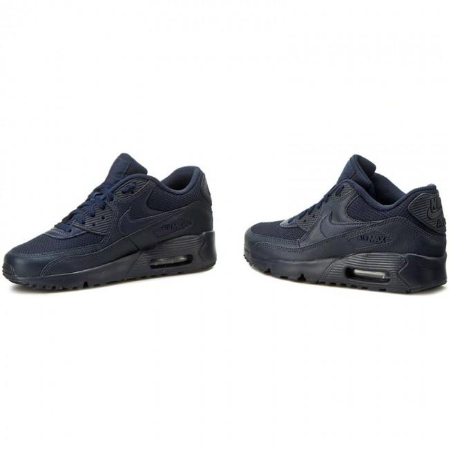 Shoes NIKE Air Max 90 Mesh (GS) 833418 401 ObsidianObsidian