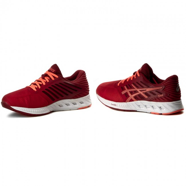 Asics Schuhe ASICS FuzeX T689N Ot RedFlash CoralTrue