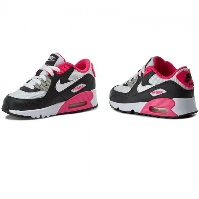 nike AIR MAX 90 MESH (GS) ANTHRACITEWHITE HYPER PINK bei