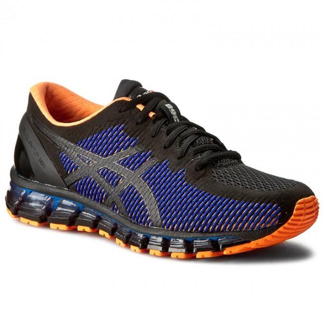 buy popular 5990f f6f06 Shoes ASICS - Gel-Quantum 360 Cm T6G1N Black/Onyx/Hot Orange 9099