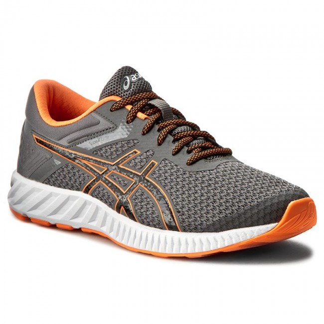 Shoes ASICS - FuzeX Lyte 2 T719N Carbon/Black/Hot Orange 9790