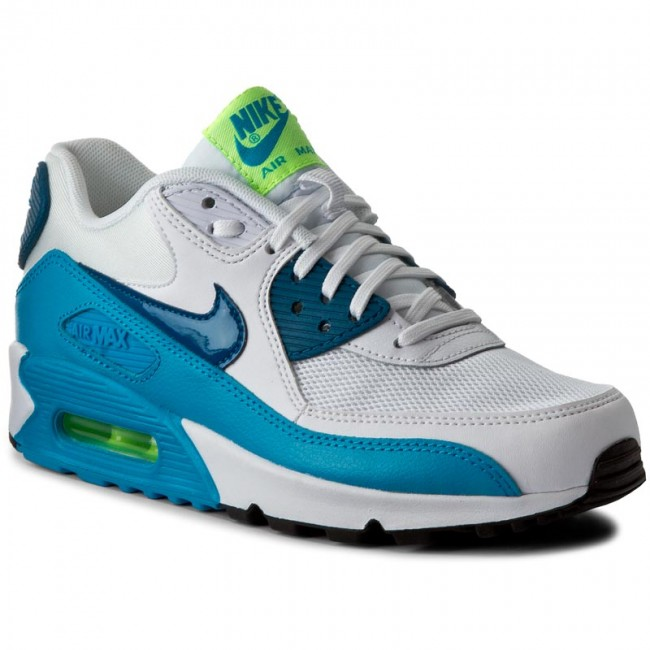 nice cheap top quality sports shoes Shoes NIKE - Wmns Air Max 90 Essential 616730 029 White/Green ...