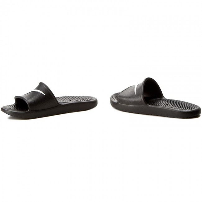 Extremistas debate Hija  Slides NIKE - Kawa Shower 832528 001 Black/White - Clogs and mules - Mules  and sandals - Men's shoes | efootwear.eu