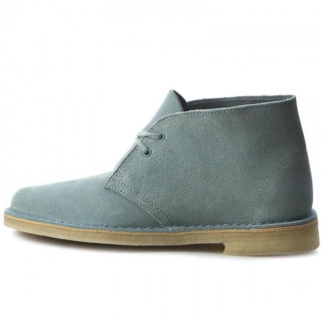 aa1edf2c5 Boots Clarks Desert Boot 261227424 Grey Blue Boots