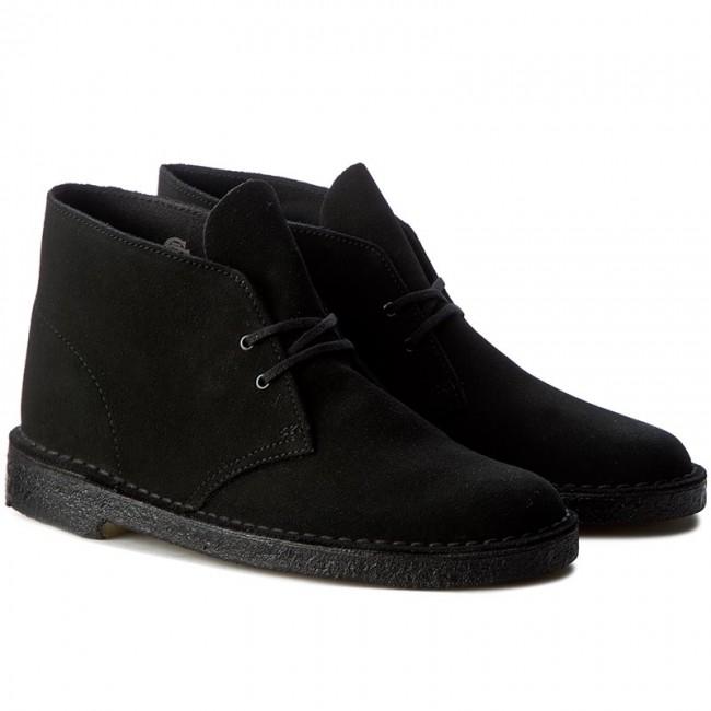 boots clarks desert boot 261078827 black boots high