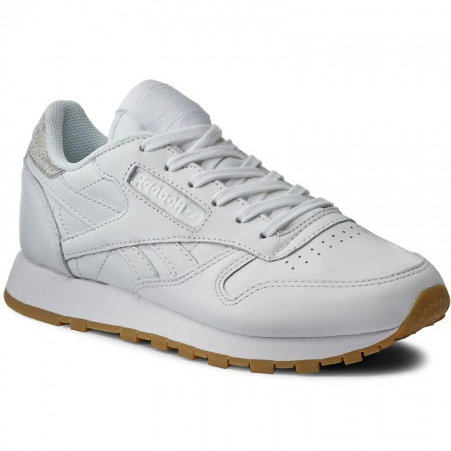 Shoes Reebok Cl Lthr Met Diamond BD4423 WhiteGum