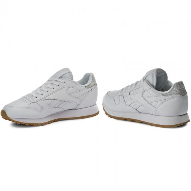 pegar zorro Involucrado  Shoes Reebok - Cl Lthr Met Diamond BD4423 White/Gum - Sneakers - Low shoes  - Women's shoes | efootwear.eu