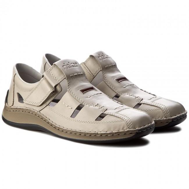 shoes rieker 05284 60 beige sandals mules and. Black Bedroom Furniture Sets. Home Design Ideas