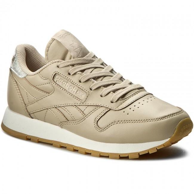Shoes Reebok Cl Lthr Met Diamond BD4424 OatmealChalkGum