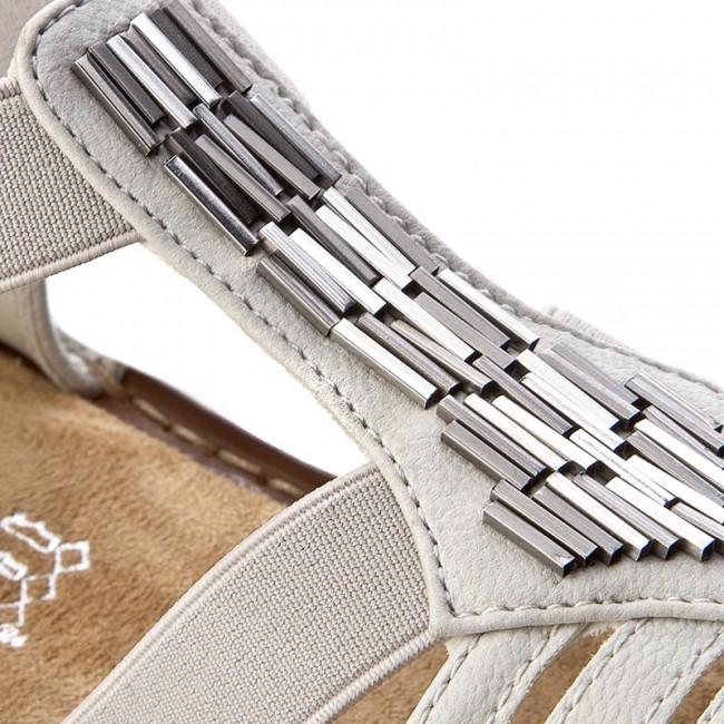 Sandalen RIEKER 60800 80 Weiss