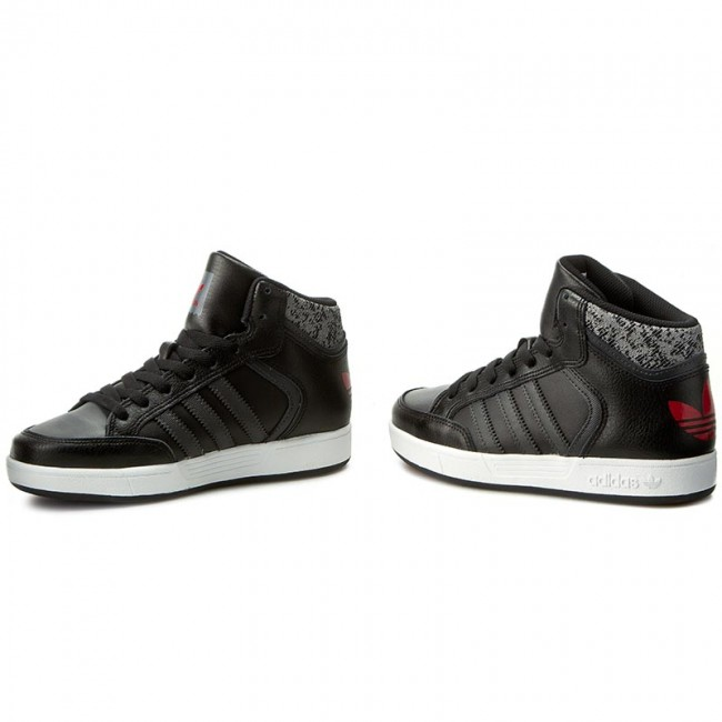 Shoes adidas Varial Mid J BB8771 CblackDgsogrScarle