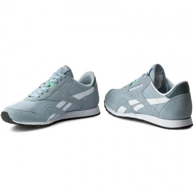 słodkie tanie wiele kolorów znana marka Shoes Reebok - Cl Nylon Slim Hv BD1784 Grey/Stonewash/White/Mint