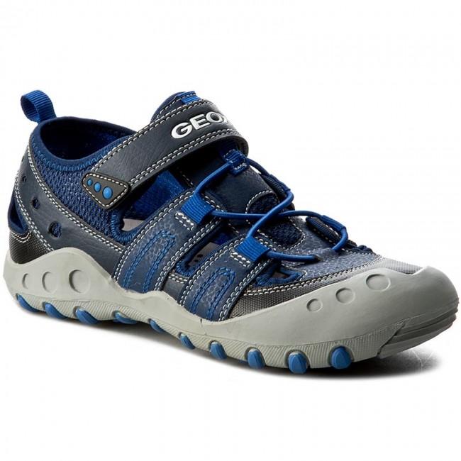 Shoes GEOX J Sand.Kyle A J72E1A 0CE14 C4226 D MorskiKrólewski