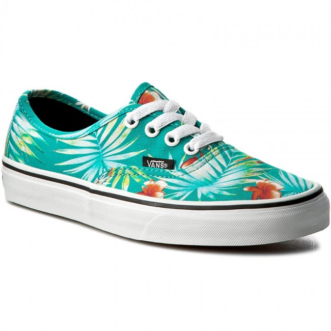 Plimsolls VANS - Authentic Decay VN0A38EMMOX (Decay Palms) Baltic ...
