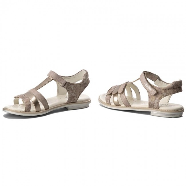 Sandals GEOX J. S.Giglio A J62E2A 000JS C5000 D Beż 3PvSx