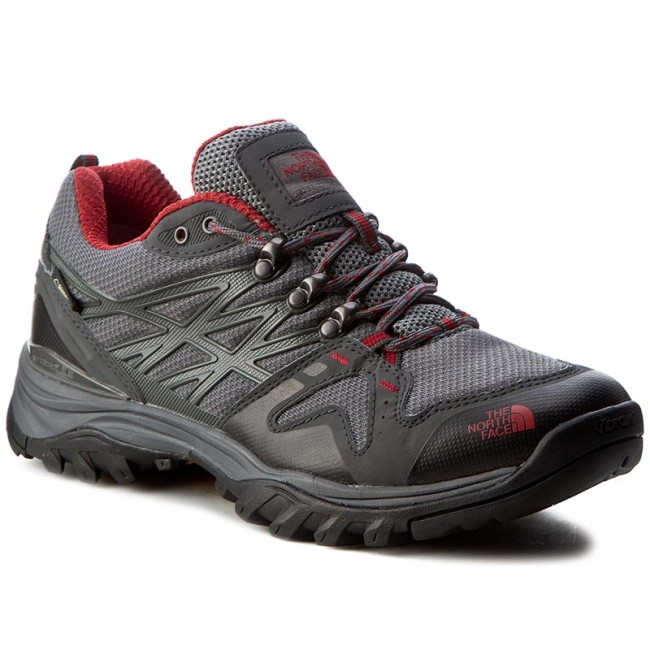 5f48a9d0 Trekker Boots THE NORTH FACE - Hedgehog Fastpack Gtx (Eu) GORE-TEX  T0CXT3TJP Zinc Grey/Rudy Red - Trekker boots - Low shoes - Men's shoes -  efootwear.eu