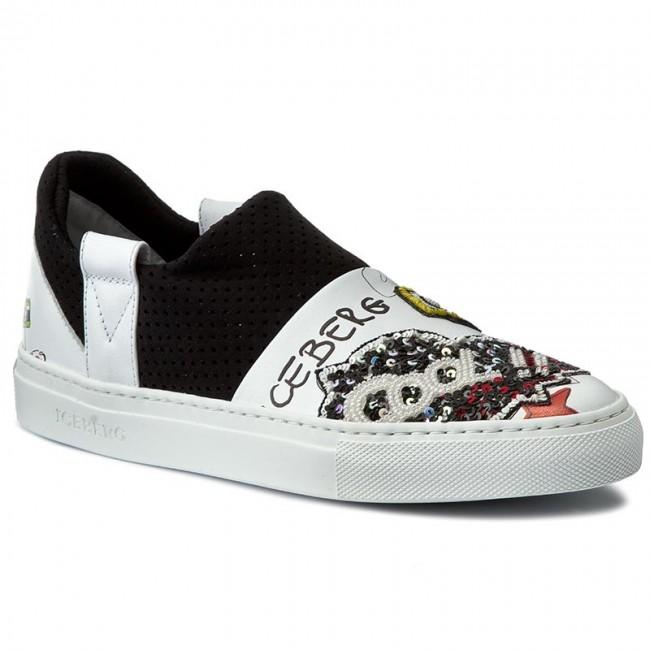 huge discount 73b80 df62a Sneakers ICEBERG - Serena 17EID1020A Galaxy Bianco