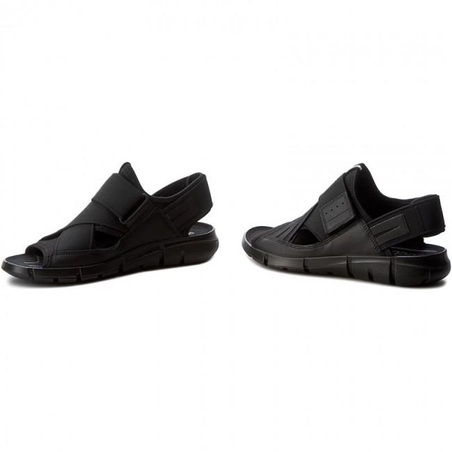 Ecco Mens Intrinsic Sandal Black ECCO Footwear 84200451052