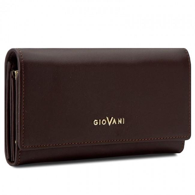Large Women's Wallet GIOVANI - CE-007-D Brown