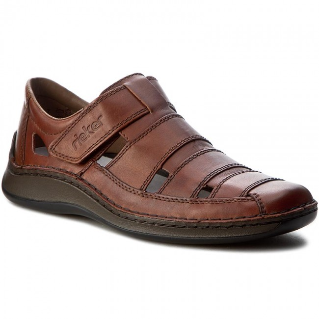 Sandals RIEKER 05278 24 Braun