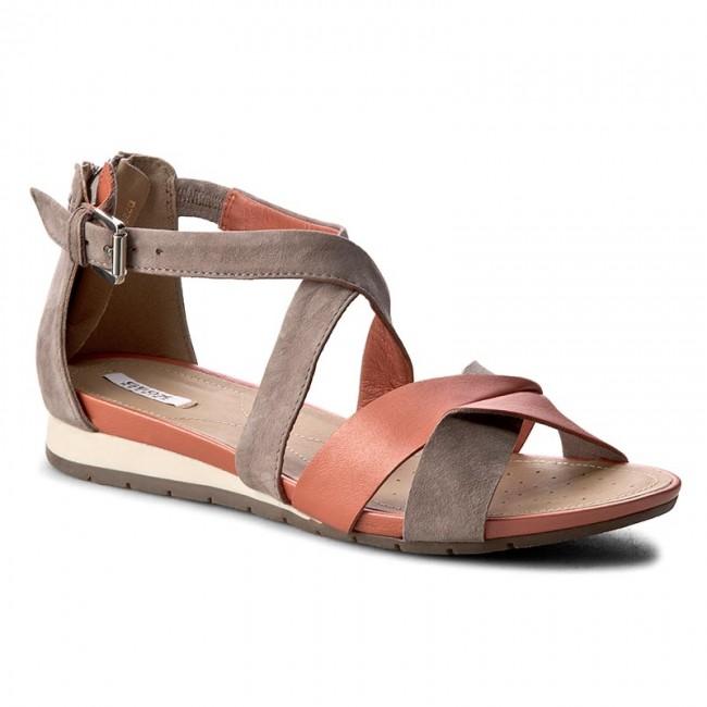 venta caliente online comprar auténtico selección premium Sandals GEOX - D Formosa A D7293A 0BV21 C7LQ6 Dk Orange/Taupe ...