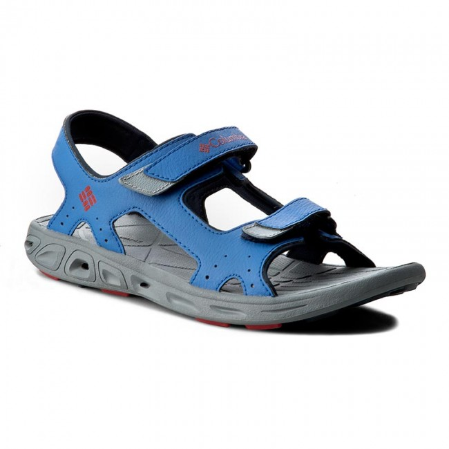 Sandals COLUMBIA - Youth Techsun Vent BY4566 Stormy Blue/Mountain Red 426