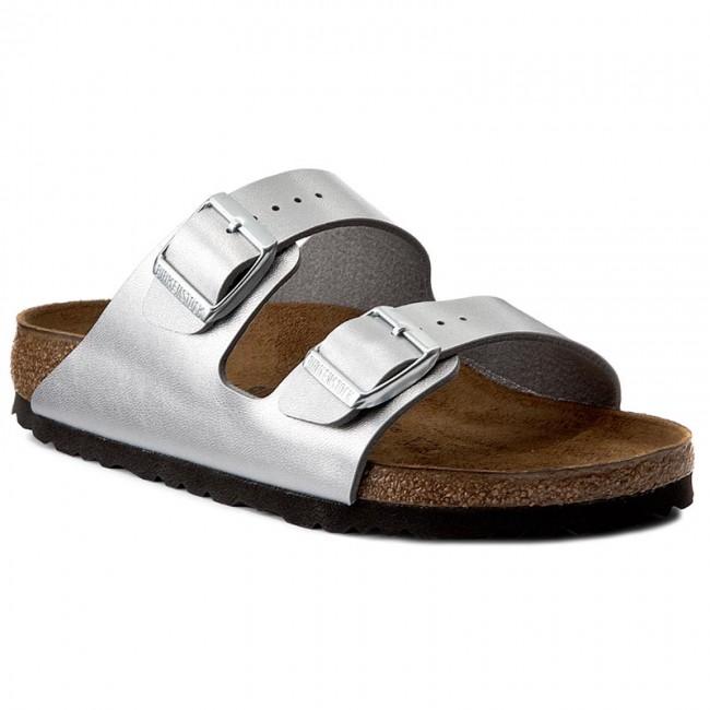 Slides BIRKENSTOCK - Arizona Kids 0555133 Silver