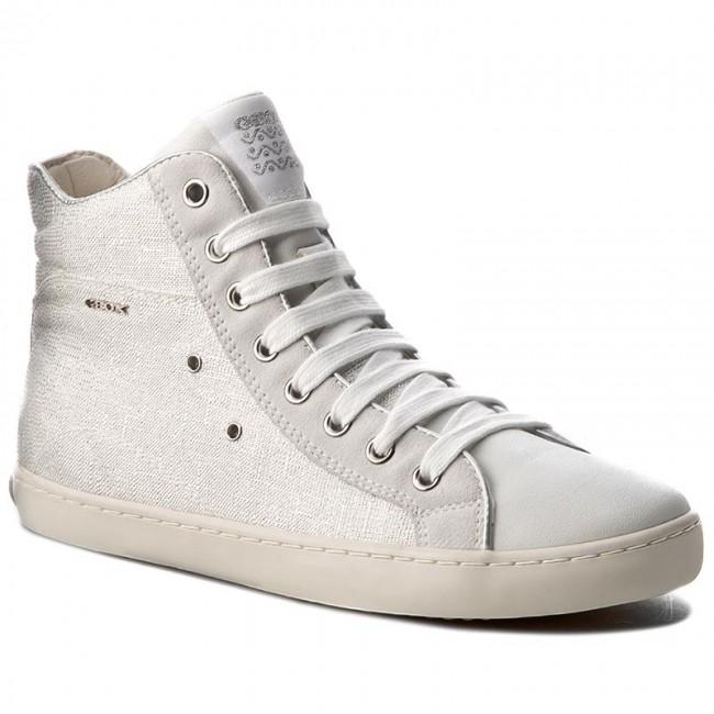 Boots GEOX - J Kiwi G. A J72D5A 01122 C1000 White