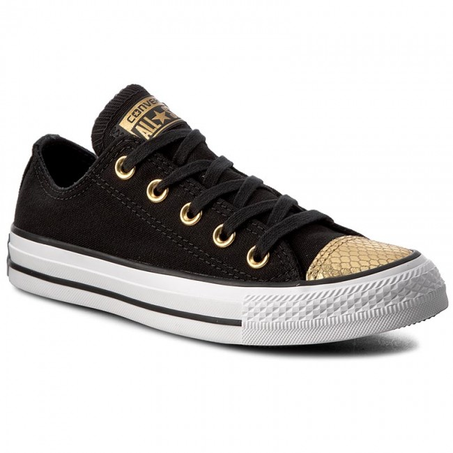 Sneakers CONVERSE - Ctas Ox 555815C Black/Gold/White