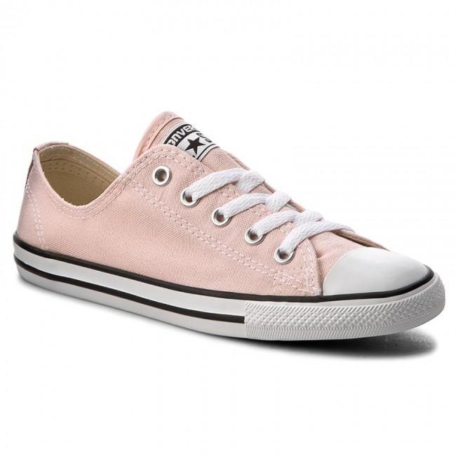 Sneakers CONVERSE - Ctas Dainty Ox 555986C Vapor Pink/Black/White