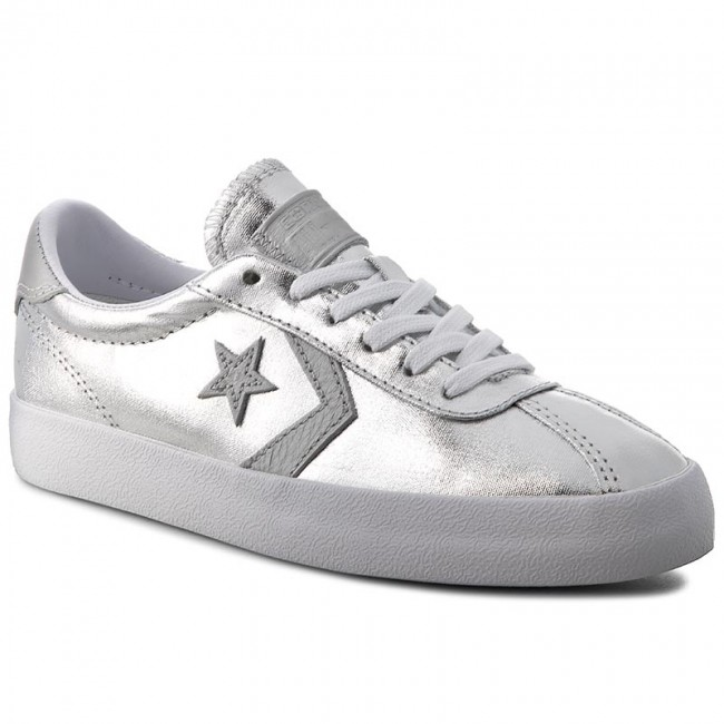 Sneakers CONVERSE - Breakpoint Ox 555949C Pure Silver/White/White