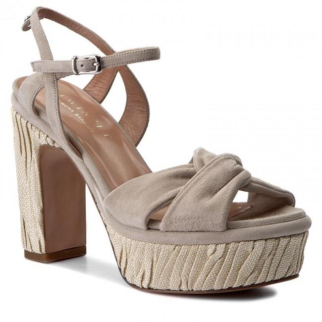 Sandals TWINSET - Sandalo CS7TT3 Coconut 00847