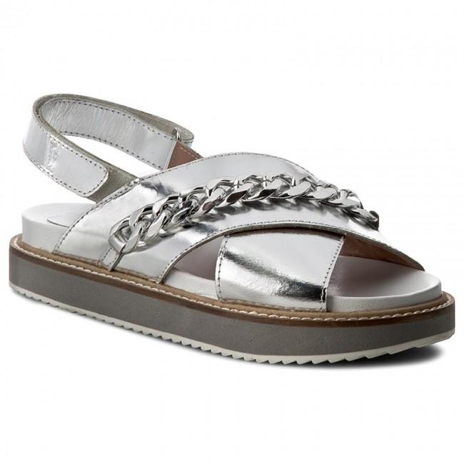 Sandals TWINSET - Sandalo CS7TTN  Argento 00055