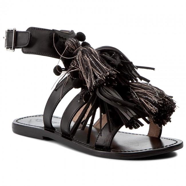 Sandals TWINSET - Sandalo CS7TXE St Nero/Stone 06