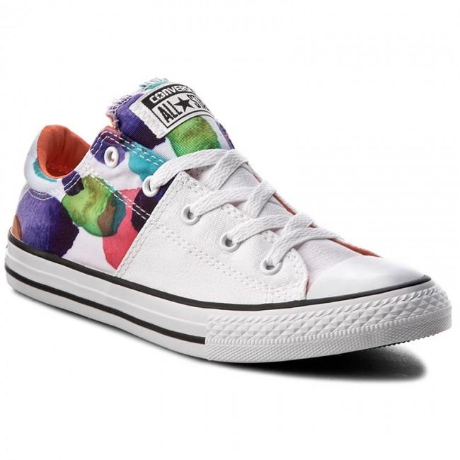Sneakers CONVERSE - Ctas Madison Ox 656084C White/Wild Mango/Black