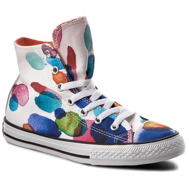 Sneakers CONVERSE - Ctash Hi 656144C White/Wild Mang