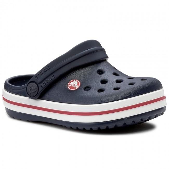 Slides CROCS - Crocband Clog K 204537 Navy/Red