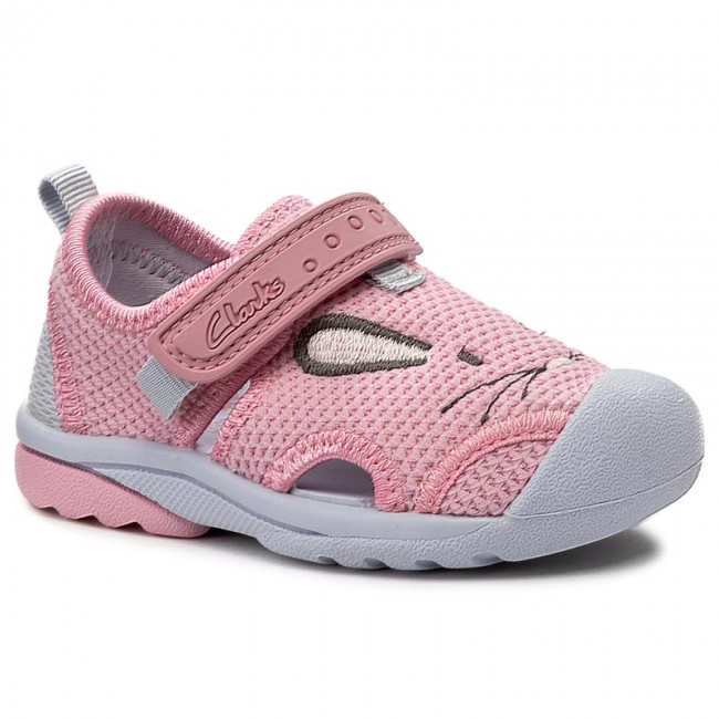Shoes CLARKS - BeachMolly Fst 261240136 Baby Pink