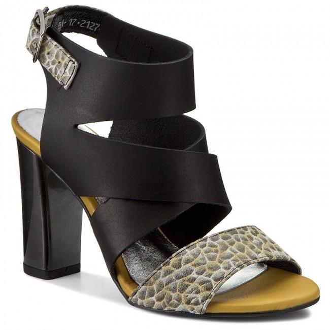 Sandals KARINO - 2127/150-P Czarny/Żółty