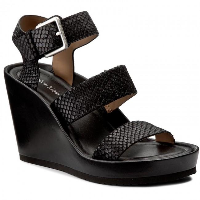 Sandals CALVIN KLEIN - Hailey E4602  Black
