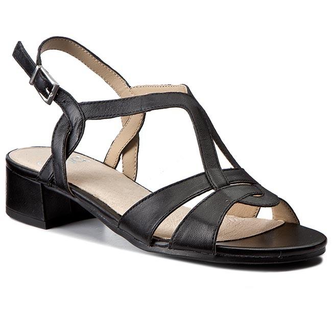 Sandals CAPRICE - 9-28201-28 Black Nappa 022