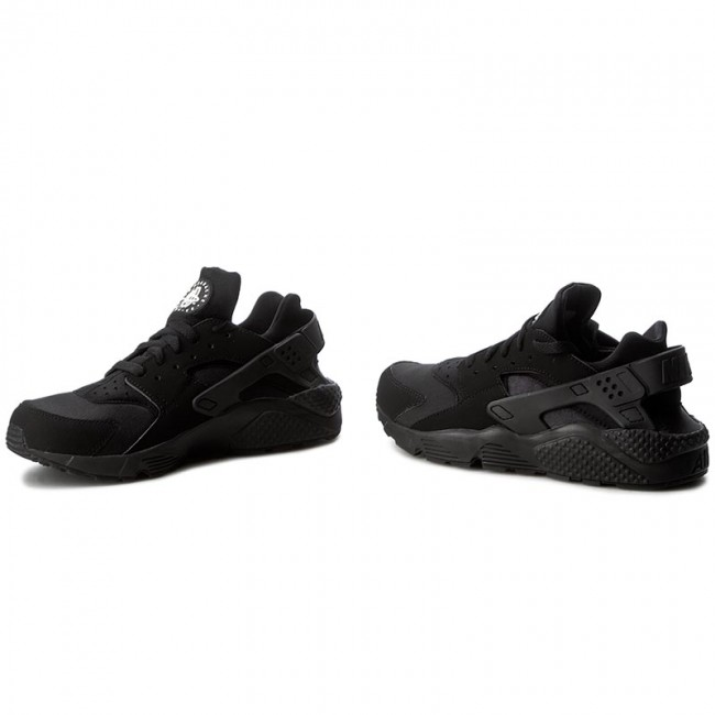 Shoes NIKE Air Huarache 318429 003 BlackBlackWhite