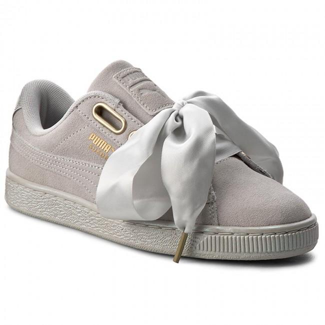 best website 17138 99d31 Sneakers PUMA - Suede Heart Satin Wn's 362714 02 Gray Violet/Gray Violet