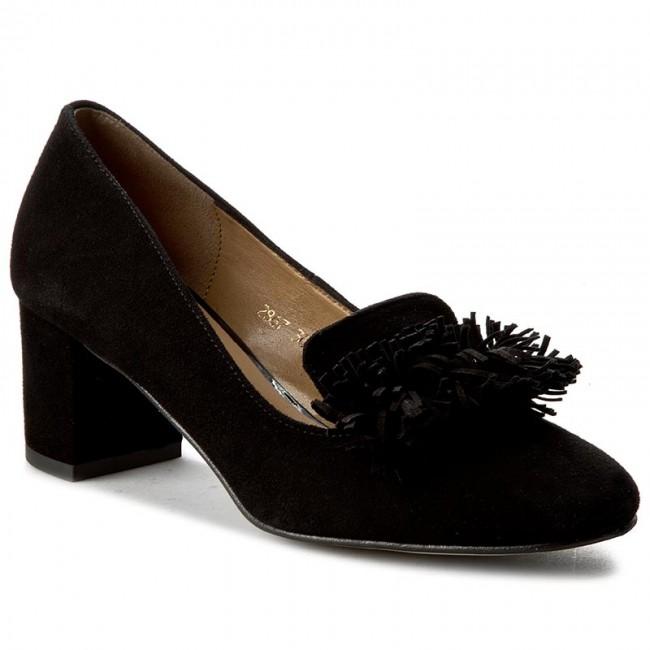Shoes SAGAN 2867 Czarny Welur