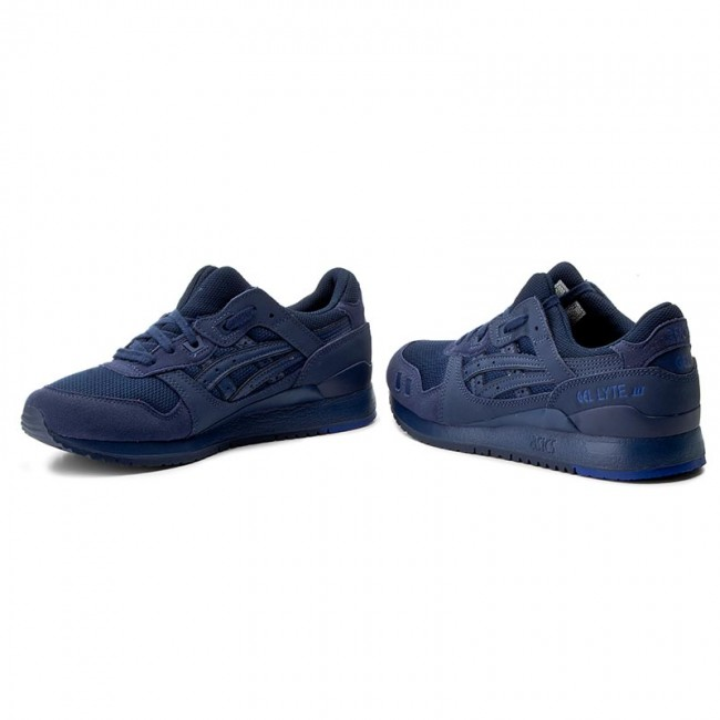 free shipping 0257c 1b8ac Sneakers ASICS - TIGER Gel-Lyte III H7N3N Indgo Blue/Indigo Blue 4949