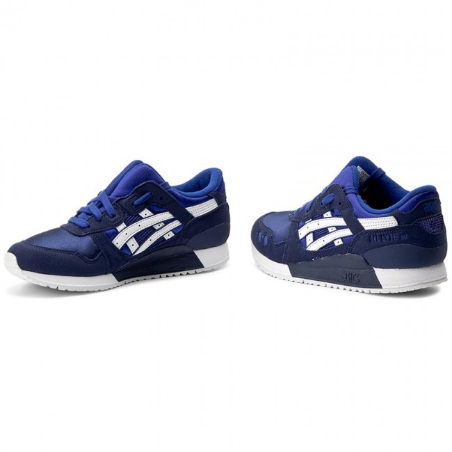 brand new ac59e d19eb Sneakers ASICS - TIGER Gel-Lyte III Gs C5A4N Asics Blue/White 4501