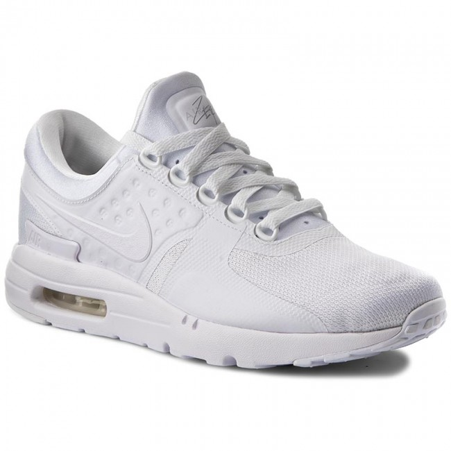 0873676379 Shoes NIKE - Air Max Zero Essential 876070 100 White/White/Wolf Grey ...